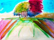 group  of trees von Maria-Anna  Ziehr