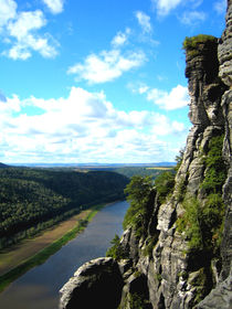 Elbe und die Sächsische Schweiz von mellieha