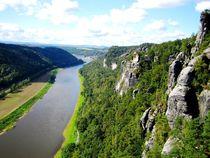 Schöne Sächsische Schweiz und Elbe von mellieha
