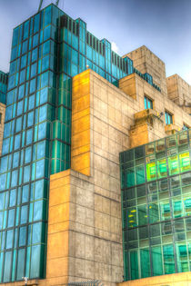 SIS Secret Service Building London by David Pyatt