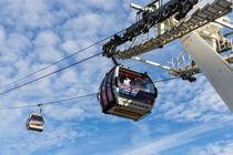 Greenwich London Cable Car  by David Pyatt