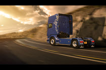 Scania in Motion by Stephan  Nagy