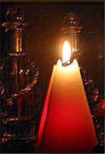 Kerzenzeit von Angelika  Schütgens