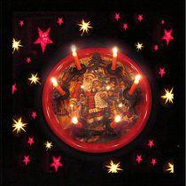 Weihnachtsteller  von Angelika  Schütgens