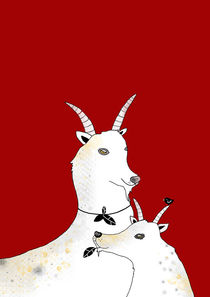 Goats by Kristina  Sabaite