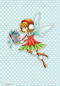 Weihnachtsfee Viola von Gosia Kollek
