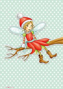 Weihnachtsfee Rosalie von Gosia Kollek