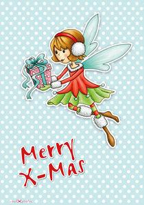 Weihnachtsfee Viola Merry X-Mas von Gosia Kollek