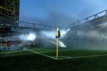 Eckfahne im Signal-Iduna-Park von Mario Hommes