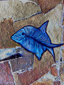'Fossilien-Kugelfisch' von Chris Berger