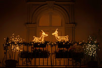 Christmas Balcony von Gerhard Petermeir