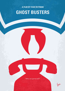 No104-my-ghostbusters-minimal-movie-poster