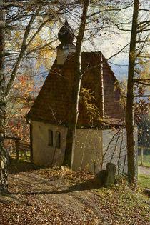 Droben stehet die Kapelle...... von Chris Berger