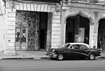 Cuba - La Habana (negro-blanco) von Tania Yoko