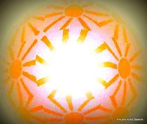 Sonnenkunstwerk von Anke Stawicki