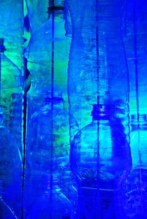 artwork with plastic bottles... von loewenherz-artwork