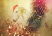 Weihnachtskarte 2 von artfulhorses-sabinepeters