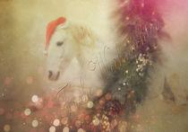 Weihnachtskarte 3 von artfulhorses-sabinepeters