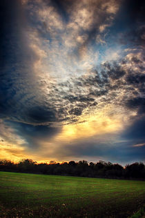 Clouds at Sunset by Vicki Field