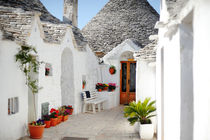 Trulli houses in Alberobello, Apulia, Italy von Tania Lerro