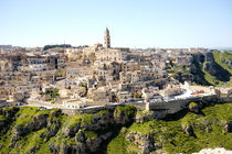 Matera ancient city panoramic view, Italy von Tania Lerro