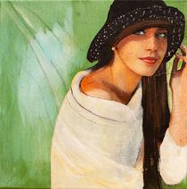green eye pearl von Doris Happ