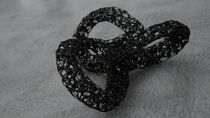 Voronoi Torus - 3d sculpture by Reinhard Kepplinger