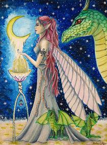 Drachenelfe by dreamtimeart