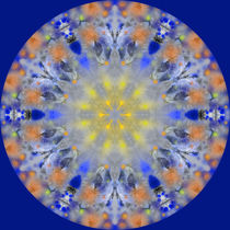 Winterleuchten Mandala, winter shine by Sabine Radtke