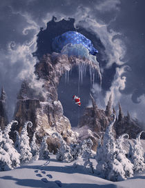 Christmas Gifts Mountain. by alfoart