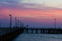 Beach Pier at Twilight by Masoud Rezaeipoor