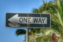 One Way left by Susanne  Mauz