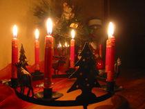 Kerzenlicht by Angelika  Schütgens