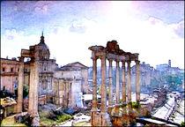 Stadtbilder Athen Akropolis von bilddesign-by-gitta