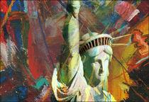 Stadtbilder  Amerika Freiheitsstatue von bilddesign-by-gitta