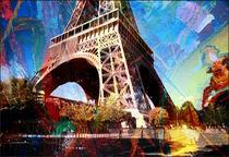 Stadtbilder Paris Eifelturm von bilddesign-by-gitta