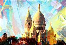 Stadtbilder Paris Sacre Coeur von bilddesign-by-gitta
