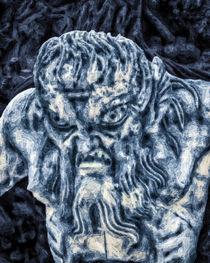 Triton in Blue von GabeZ Art