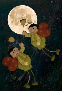 Flug zum Mond by Chris Berger