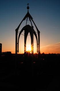 Sonnenaufgang über dem Slüterdenkmal von Sabine Radtke