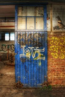 Love vs Door von Susanne  Mauz