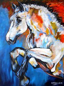 Stallion Horse by Eberhard Schmidt-Dranske