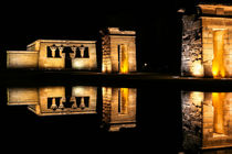 The Temple of Debod Madrid - El Templo de Debod by ebjofrie