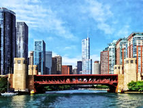 Chicago IL - Lake Shore Drive Bridge by Susan Savad