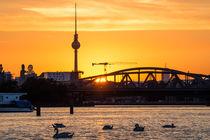 Skyline Berlin Treptow by Franziska Mohr
