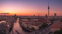 'Panorama Berlin von oben' by Franziska Mohr