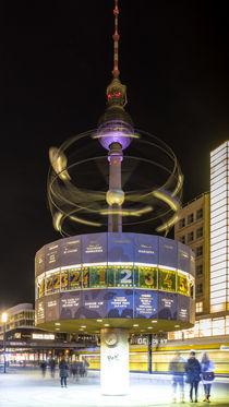 Fernsehturm mit Weltzeituhr by Franziska Mohr