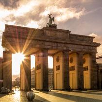 Brandenburger Tor im Morgenlicht von Franziska Mohr