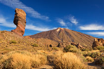 Rock formations in the Teide National Park on Tenerife by Sara Winter