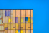Office Window Color Reflection by Gerhard Petermeir